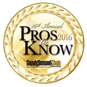 2016 Pro to Know badge awarded to PINC for yard management and Supply Chain solutions