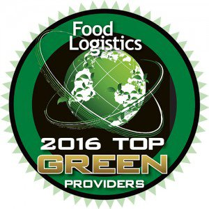 The Food Logistics 2016 Top Green Providers Badge, awarded to PINC for its contributions to the food and beverage sector by enhancing sustainability in the movement of product through the global food and beverage supply chain.