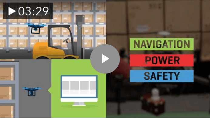 Invenotry Robotics - Supply Chain Drones for Cycle Counting and Inventory Management