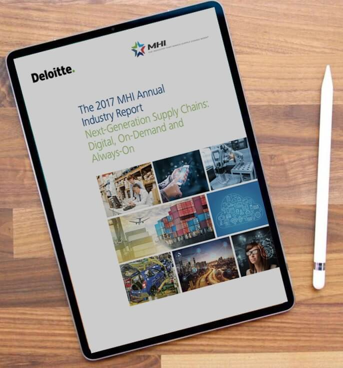ipad showing industry report