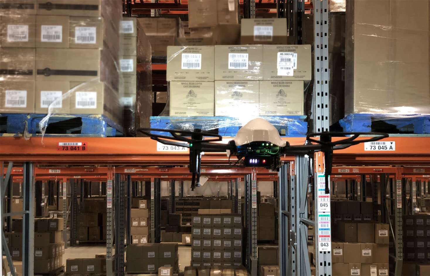 Warehouse Inventory Drones 2019