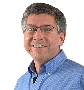 A photo of Lou Chauvin, VP of Engineering & Products at PINC.