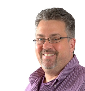 A photo of Scott Hebel, Director of Solutions at PINC.