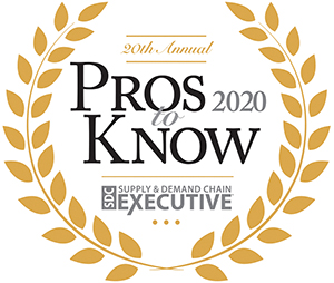 PINC's Matt Yearling has been recognized as 2020 Supply Chain Pro To Know