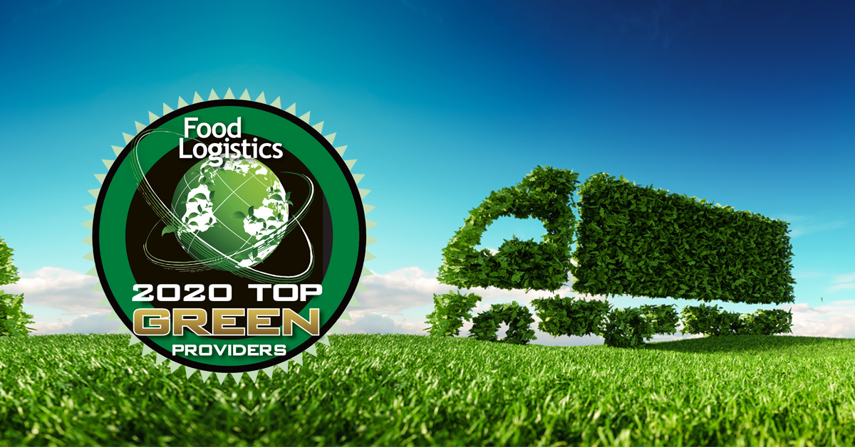 PINC Named 2020 Food Logistics' Top Green Provider
